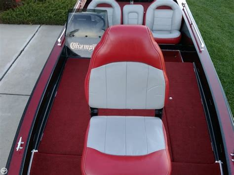 chion boat seats 1991 chion 184 elite bass boat detail classifieds