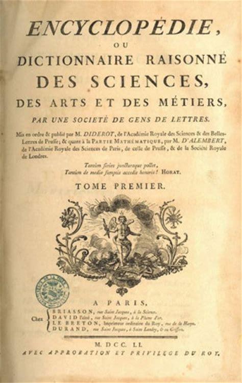 enciclopedie illuminismo parcours 2 l encyclop 233 die un symbole des lumi 232 res la