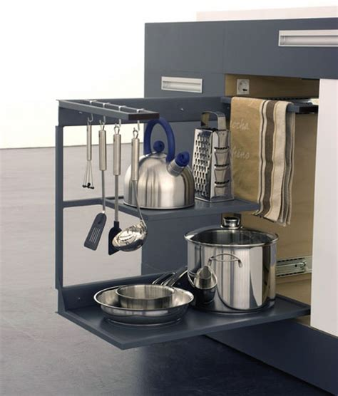 sliding racks for kitchen cabinets all purpose kitchen island inside a 1 square meter cube