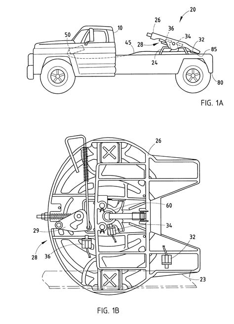 fifth wheel parts diagram patent us6285278 electronic system for monitoring a