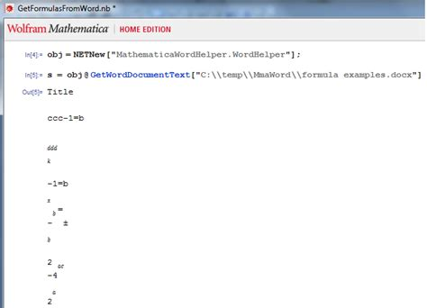 netlink tutorial import how to programmatically extract mathematical
