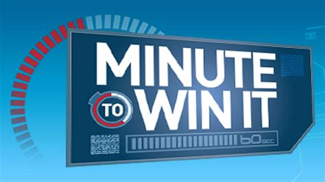 minute to win it nbc - Minute To Win It For