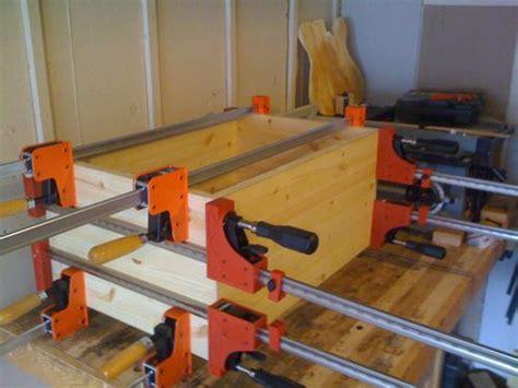 solid pine 2x12 speaker cabinet 2 fit glue up