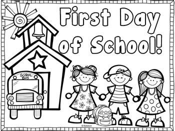 preschool coloring pages about school back to school coloring page freebie