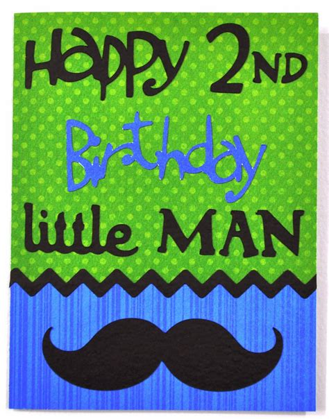 2nd Birthday Card Dat S My Style Tj S 2nd Birthday Card