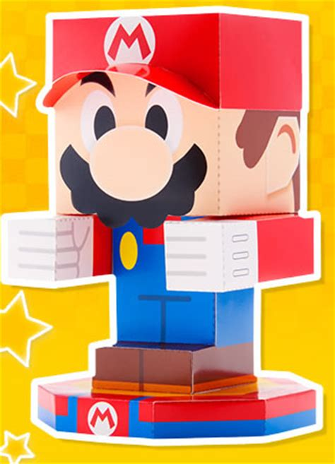 Jam Paper Templates Mario And Luigi Paper Jam Papercraft Pdf Templates Available For Download Gonintendo