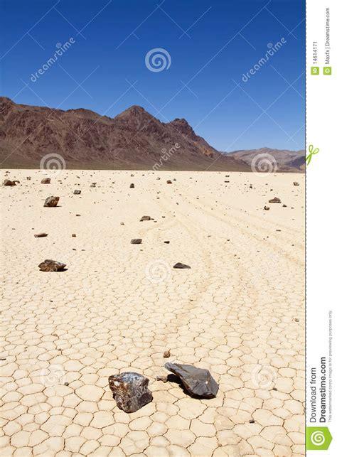 racing rock  death valley stock image image