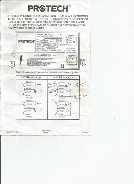protech fan motor wiring diagram wiring diagram manual