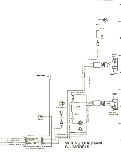 1980 cj7 ignition wiring diagrams 1980 cj7 battery wiring
