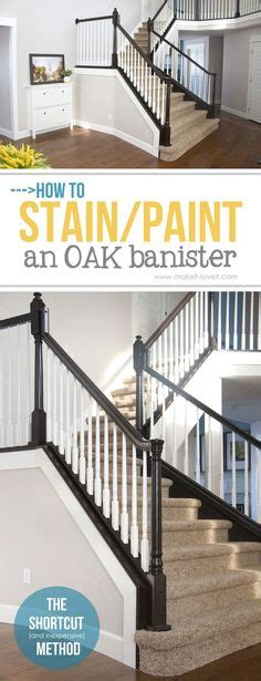 sanding banister spindles how to gel stain ugly oak banisters without sanding
