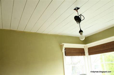 Plank Ceiling Diy by Diy Plank Ceilings D 233 Corations Pour La Maison