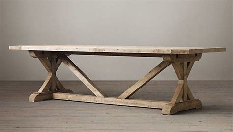 restoration hardware trestle table trestle table restoration hardware