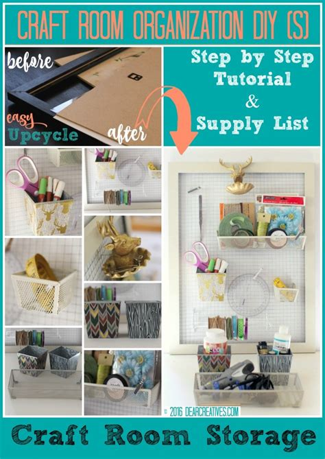 room storage ideas for small room craft storage diy craft room storage ideas