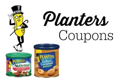 Planter Peanuts Coupons by 1 Planters Nut Rition Other Planters Coupons