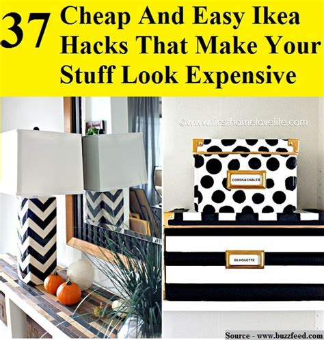 37 cheap and easy ways to make your ikea stuff look expensive 37 cheap and easy ikea hacks that make your stuff look