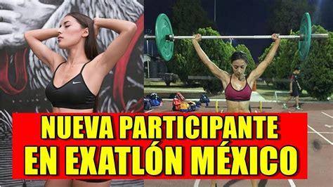 imagenes fitness mexico nueva participante de exatl 211 n m 201 xico gloria murillo youtube