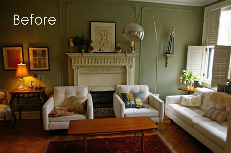 living room layout challenge revisited a before after