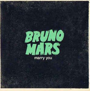 bruno mars marry you antrag bruno mars marry you cd at discogs