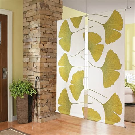 fabric room dividers home dzine home decor make a fabric room divider