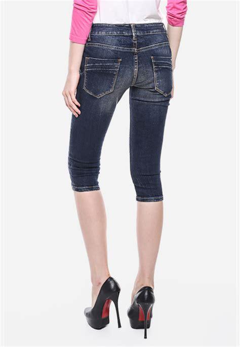 Celana Warna Biru Navy celana biru navy slim fit premium