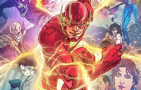 The Flash Rebirth flash rebirth to turn wally west into kid flash plus preview