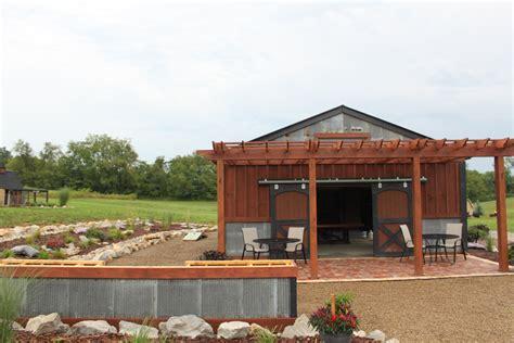 Outdoor Barns outdoor summer barn kitchen completed world garden farms