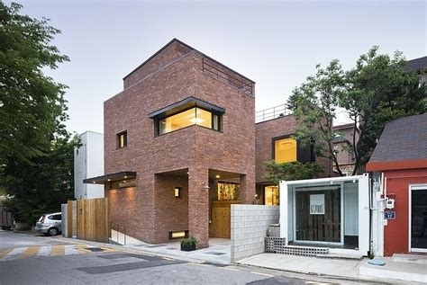 seoul house courtyard house in seoul by min soh homeadore