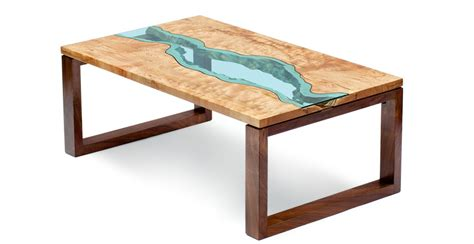 topography coffee table greg klassen s river collection tables