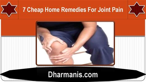 Home Remedies For Joint by 7 Cheap Home Remedies For Joint By Affton Frederick