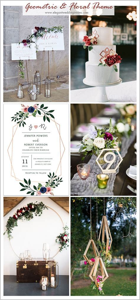 8 Popular Wedding Themes to Inspire You in 2018 & 2019