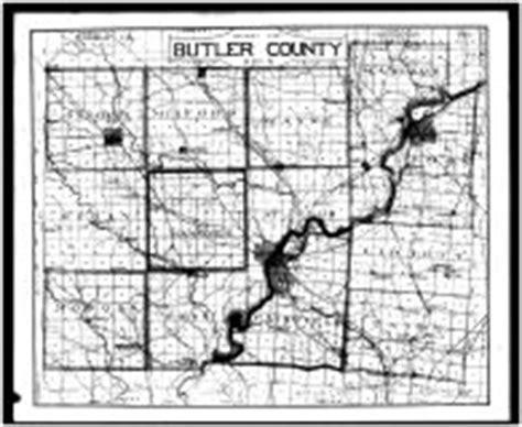 Butler County Ohio Property Records Butler County Outline Map Atlas Butler County 1885 Ohio Historical Map