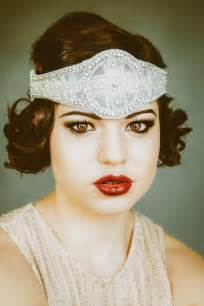 how to make a 1920s hairpiece 1920 s inspired bridal flapper headpiece bohemian style