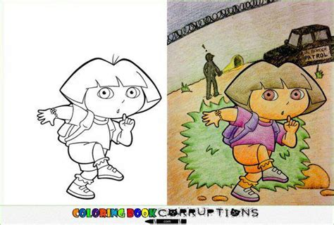 coloring book pictures gone wrong 14 coloring books for children turned horribly wrong
