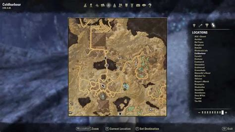 coldharbour treasure map eso treasure maps coldharbour ce