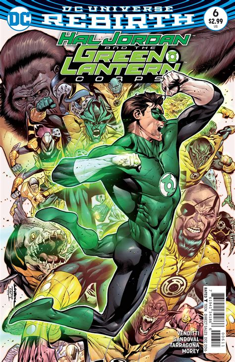 hal and the green lantern corps vol 4 fracture rebirth aug160231 hal and the green lantern corps 6