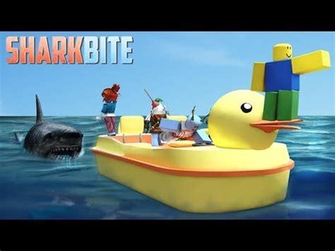 shark bites boat roblox sharkbite gameplay buying military boat doovi