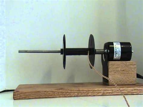 electric spool bobbin winder spooler,leather cord,yarn