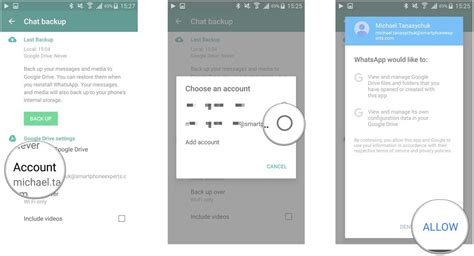 account recovery for android how to restore whatsapp messages from drive to android