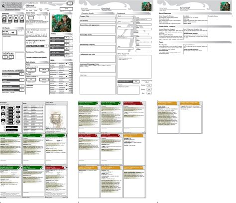 4e Power Cards Template by 4e D D Dungeon Master Page 14