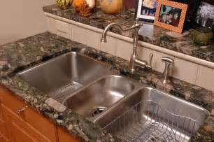 beautiful Kitchen Sinks Corner Style #3: triple-stainless-steel-undermount-kitchen-sink.jpg?t=1415478866566