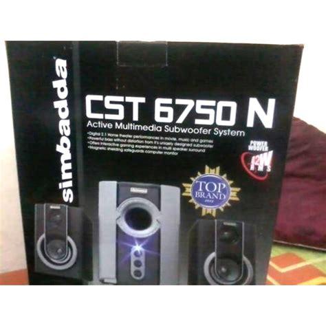 Speaker Simbadda Cst 1200n Slot Usb Harga Jual Speaker Simbadda Cst 6750n