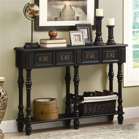 Monarch Console Table by Shop Monarch Specialties Console Table At Lowes