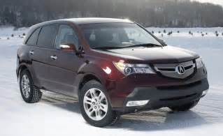 2008 Acura Suv Car And Driver