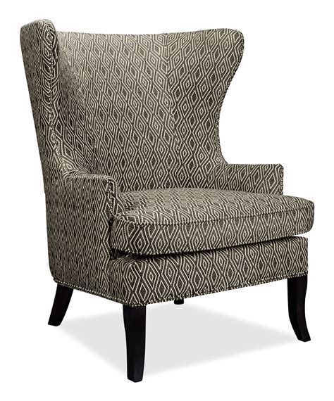 Oscar Fabric Accent Chair The Brick Fabric Living Room Chairs