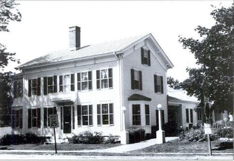 when was the first house built inside the mcdonald s in a maine colonial home business