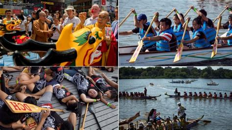 dragon boat festival 2017 queens hundreds participate in hong kong dragon boat festival