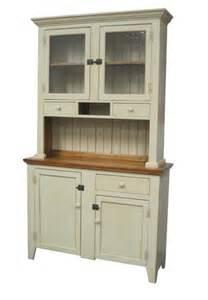 Stepback Hutch Dannar Country Furniture Custom Built Distressed Pine