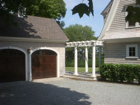 detached garage with breezeway exterior photos traditional exterior providence by