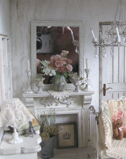 25 best ideas about shabby chic fireplace on pinterest candle fireplace shabby chic mantle