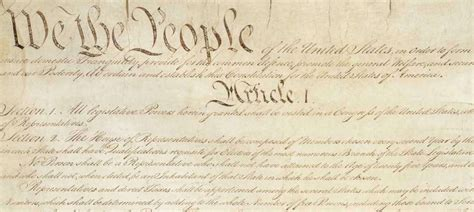 article 1 section 9 summary constitution for the united states we the people